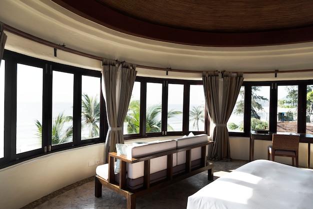 Quarto de hotel em um resort de luxo