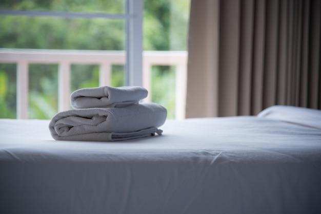 Quarto e manta de luxo em hotel ou casa para descanso