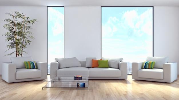 Quarto interior moderno