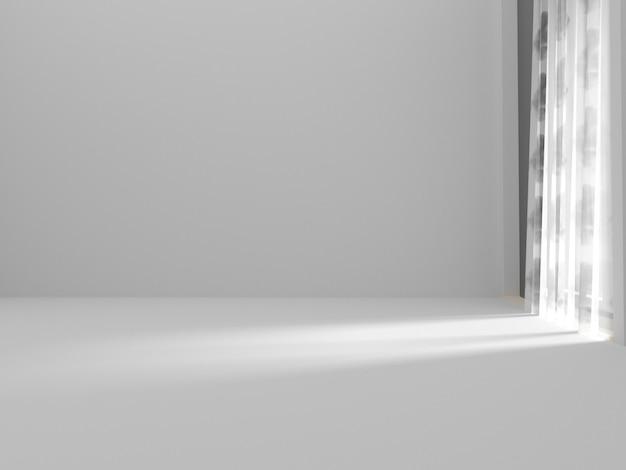 Quarto vazio e cortina