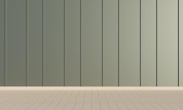 Quarto vazio, fundo de arquitetura interior minimalista, ilustração 3d