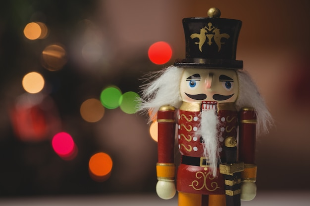 Quebra-nozes soldado de brinquedo decoração de natal