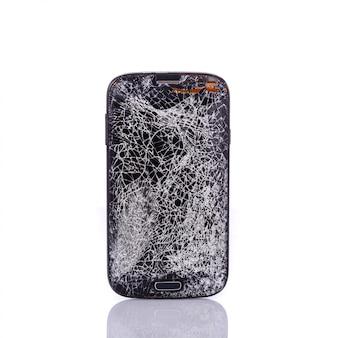 Quebrado de smartphone.