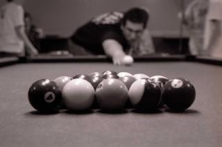 Quebrando, snooker