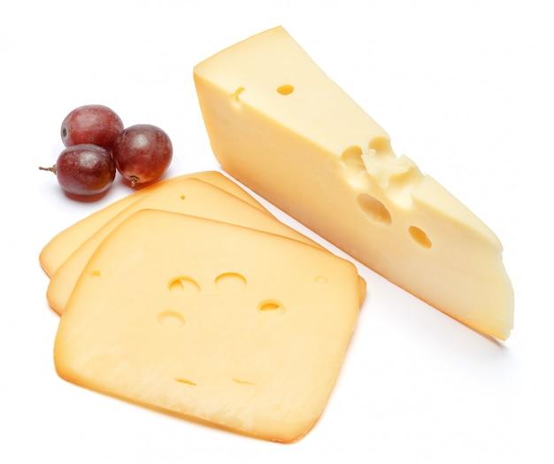 Queijo suíço ou queijo cheddar no espaço em branco
