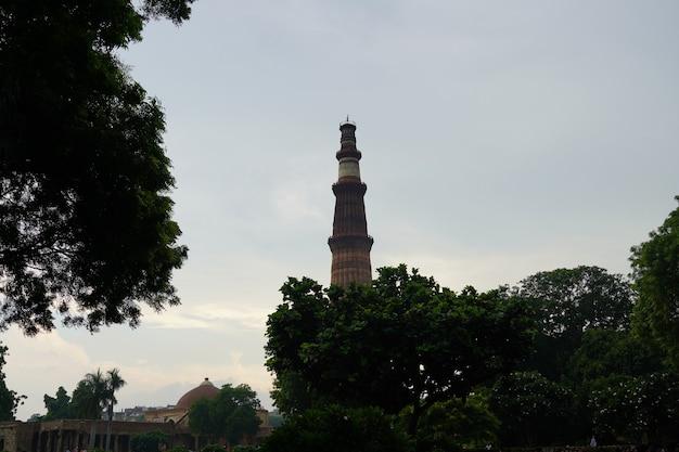 Qutub minar- qutab minar road, imagem de delhi