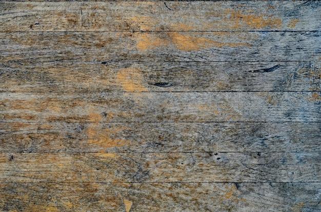 Rachou a textura de placa de madeira pintada azul resistida