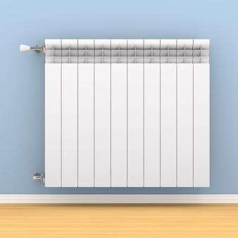 Radiador de aquecimento na parede