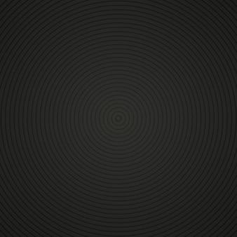 Radial preto. círculos escuros.