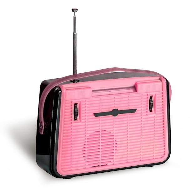 Rádio retrô antigo