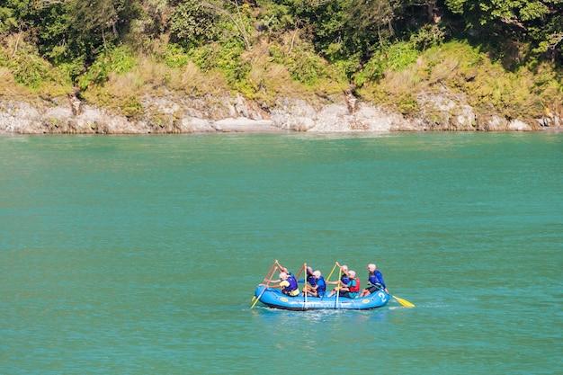 Rafting em rishikesh