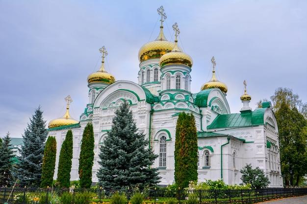 Raifa. mosteiro de raifa bogoroditsky. a catedral da trindade vivificante. 1910.