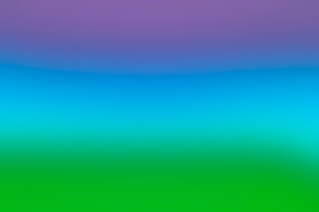 Rainbow spectrum of colors in blend