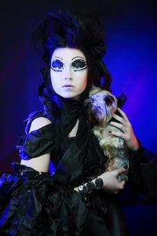 Rainha escura elegante