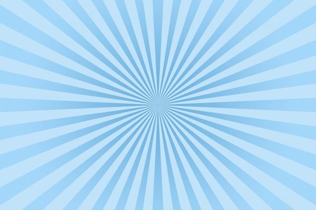 Raios de cor pastel azul abstraem base