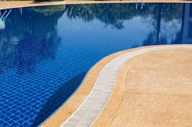 Ralo de drenagem de transbordamento de borda da piscina