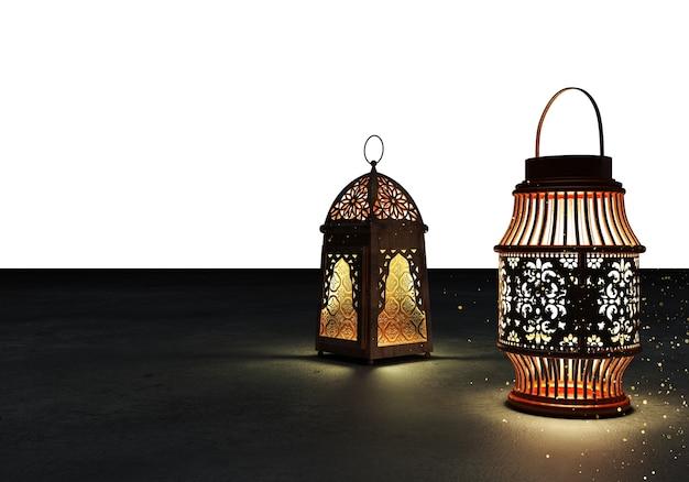 Ramadan kareem lanternas.