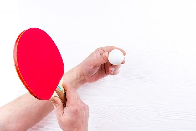 Raquetes de tênis de mesa