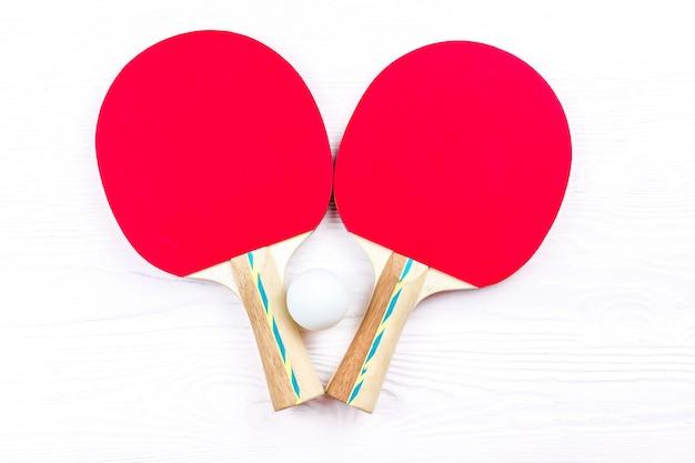 Raquetes para tênis de mesa