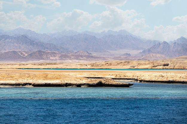 Ras mohammad é um parque nacional no egito, no extremo sul da península do sinai, com vista para o sinai