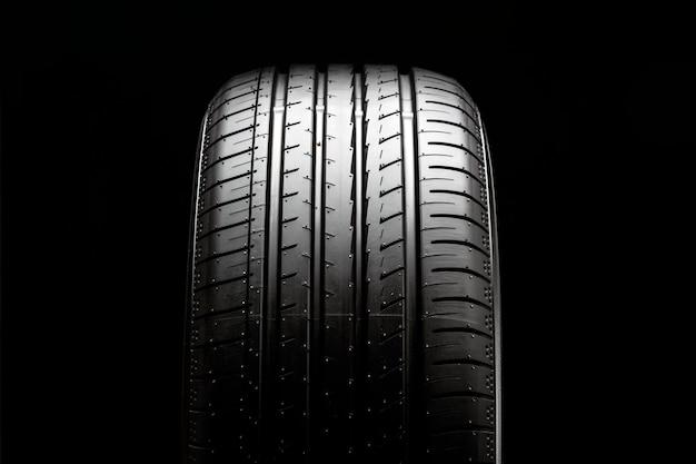 Rasto de pneu de carro verão