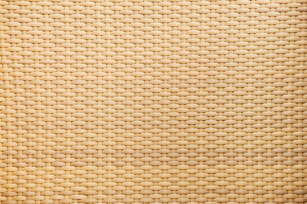 Rattan tecido com padrões naturais