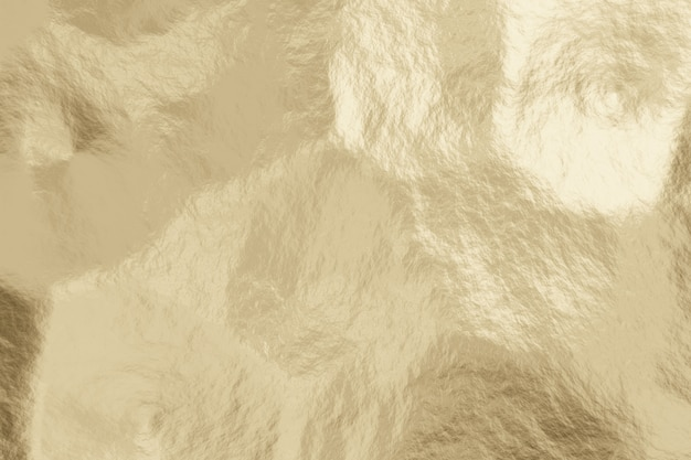 Realista luz ouro metal textura abstrato.