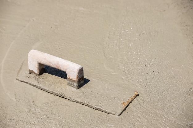 Reboco de cimento