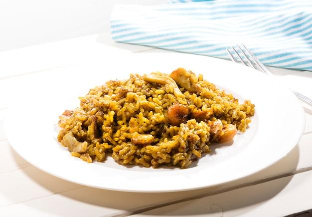Receita de arroz espanhol 3