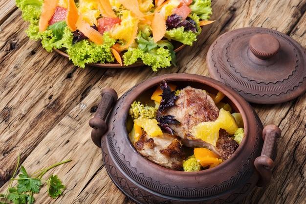 Receita de carne rural