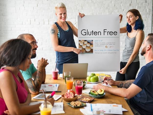 Receita de menu saudável dieta alimentar