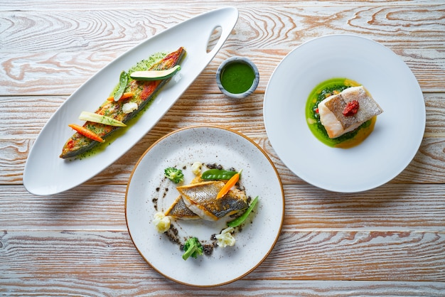 Receitas de peixe receitas turbot seabass and hake