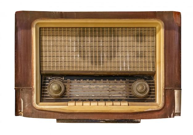 Receptor de rádio vintage