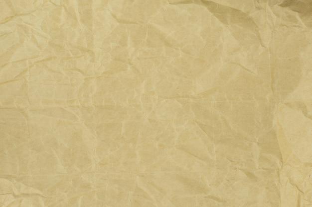 Reciclado textura de papel marrom luz amassado ou fundo de papel para o projeto com espaço de cópia