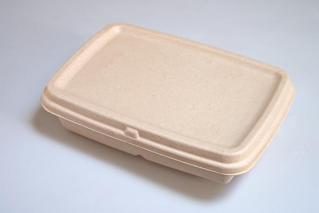 Reciclagem de almoço levar caixa