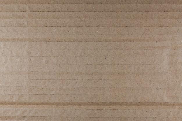 Reciclagem de textura de papelão marrom.
