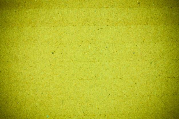 Reciclagem de textura de papelão verde.