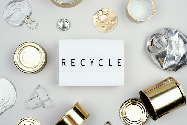 Reciclagem plana