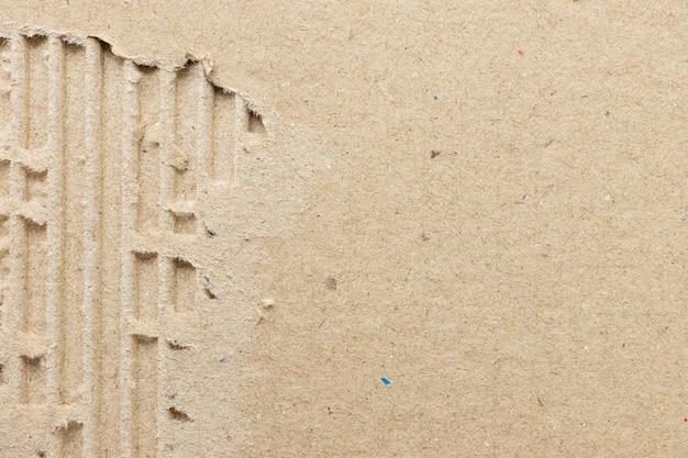 Reciclar fundo de papelão de textura de papel