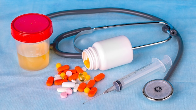 Recipiente de urina