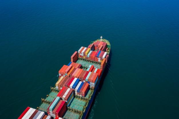 Recipientes de carga de transporte de negócios
