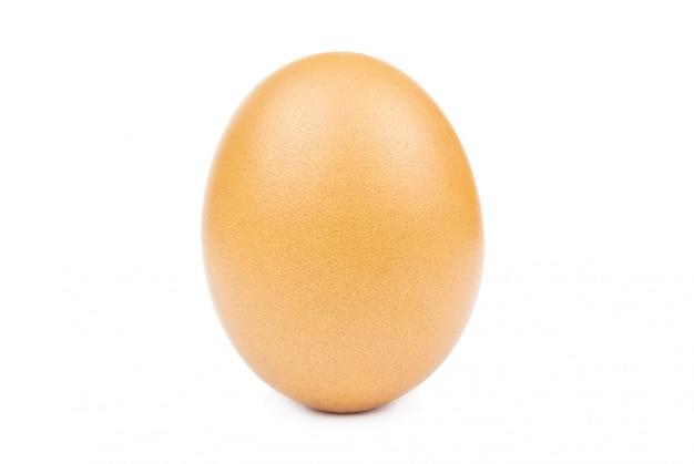 Recorte branco isolado ovo
