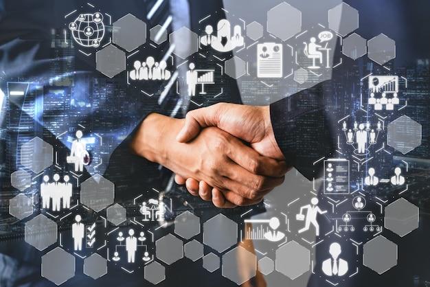 Recrutamento de recursos humanos e rede de pessoas