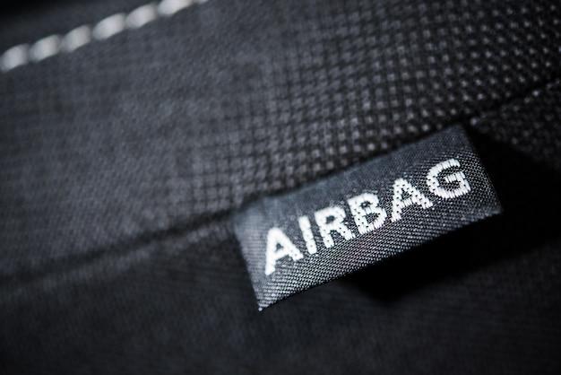 Recurso de segurança do airbag do carro
