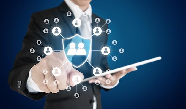 Recursos humanos, atendimento e atendimento ao cliente, gerenciamento e proteção de rh