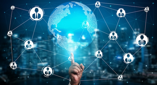 Recursos humanos e conceito de rede de pessoas