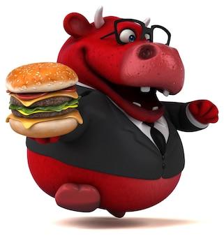 Red bull - ilustração 3d