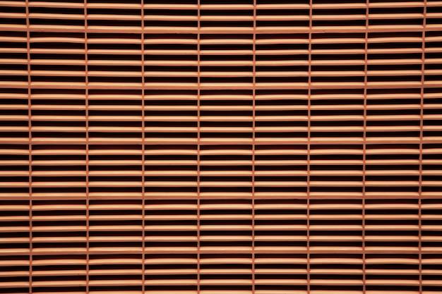 Rede de madeira vermelha cremalheira textura de fundo