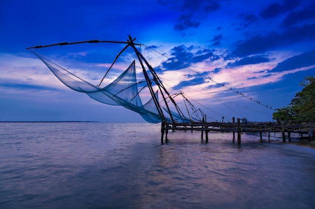 Rede de pesca chinesa