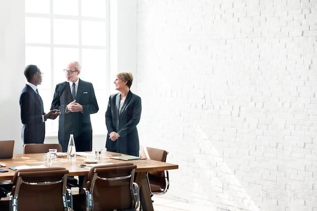 Rede de pessoas de negócios